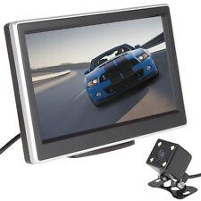 """Car Rear View Parking Kit 5"""" TFT LCD Color Monitor + 420TVL Night Vision Camera"""