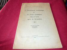 Pondaven Le Recrutement Ecclésiastique Le Léon Après La Révolution Bretagne