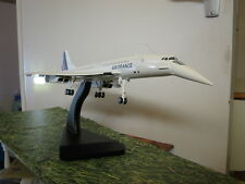 AIR FRANCE CONCORDE AF Model Aircraft BIG 2ft Airplane maquette en bois avion