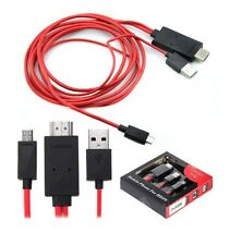 2m USB MHL a HDMI Adattatore TV HD Cavo per Samsung Galaxy Tab 3 10.1 8.0 Tablet