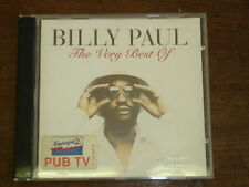 BILLY PAUL The very best of CD