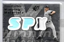 CHIEN-MING WANG 2007 SPx WINNING MATERIALS PINSTRIPE GAME USED JERSEY#/199