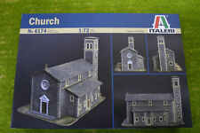 ITALERI CHIESA IN SCALA 1/72 scenari & terreno 6174