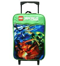 Lego Ninjago Rolling Luggage, New
