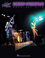 Deep Purple Greatest Hits Guitar Bass Keyboards Lyrics Drums Music Book