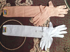 mens & womens very use full in hot summer day ,Full Hand Gloves 2PAIR White+Skin