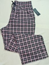 Tommy Hilfiger TH Mens Pajama Lounge Pants L 36-38 Red Blue White New MSRP$42