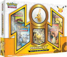 Pikachu EX Red and Blue Booster Box POKEMON Generations 20th Anniversary Packs