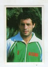 [JJ] FIGURINA CALCIO FLASH MEXICO 1986 ALGERIA FERGANI NUMERO 313