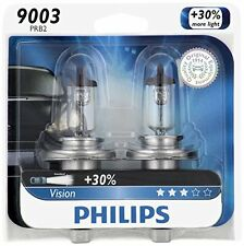 2x Philips 9003 Ultra Vision Upgrade Light Bulb H4 High Low Dual Beam 67/60W