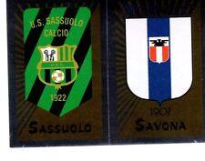 Panini Calciatori 2002/03 n. 692 SASSUOLO SAVONA SCUDETTO DA BUSTINA!!