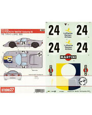 STUDIO 27 DECAL TAMIYA 1/12 MARTINI PORSCHE 910 NURNB68
