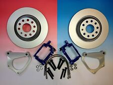 VW GOLF MK5 GTI AUDI A3 S3 SEAT LEON CUPRA SKODA VRS PORSCHE REAR BRAKE UPGRADE