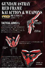 BTF HG RG 1/144 Gundam Astray Red Frame Kai Action and Weapons Parts set Model