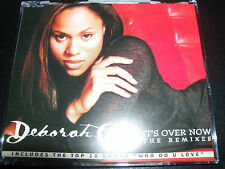 Deborah Cox It's Over Now Australian Remixes CD Single