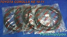 66 TOYOTA COROLLA KE10 KE11 4 DOOR SEDAN DOOR weatherstrip rubber seal New