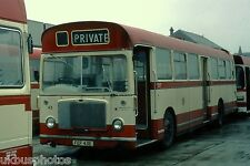 Hartlepool Borough Transport No.43 Depot 1979 Bus Photo
