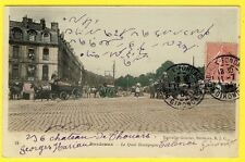 cpa 33 - BORDEAUX (Gironde) Le QUAI BOURGOGNE Animée ATTELAGES J. HUDSON & Cie