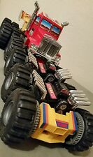 1986 Tomy Monster Machines Mad Masher Semi Truck Works! Complete! RARE HTF VNTG