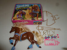 BOXED BARBIE DREAM HORSE COLLECTION STAR STEPPER 2575 MATTEL 1991 REEBOK VINTAGE