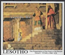 Lesotho 1988 Bf 57 Pittore Titien (I) Mnh
