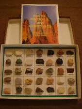 Rock & Mineral Set of 35 Pieces w/booklet - Great Educational Gift