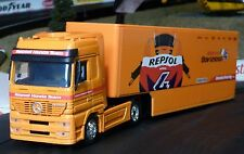 LKW Mercedes HONDA CONTAINER in 1:43 Slotcar-DEKORATION für Carrera        15793