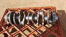 2008 VW Touareg 2,5 TDI BPE ENGINE CRANKSHAFT ,FOR PARTS ,DAMAGE SEE PICTURES>>