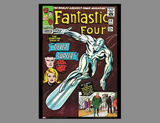 POSTER: Marvel Comics FANTASTIC FOUR #50 (May 1966 Silver Surfer) Cover POSTER