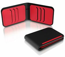 DOSH NEW Men's Street Wallet Achtung Black/Red BNWT