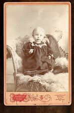 Sweet Child ~ Tackett Bros Photographers  Enid O T Oklahoma Terr ~ Cabinet Photo