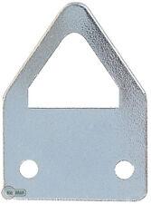 100 Ojales para cuadros Ojales de soporte Colgante 23 x 17 x 0,8 mm