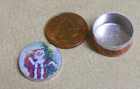 1:12 Scale Empty Biscuit Tin Dolls House Miniature Kitchen Food Accessory ct23