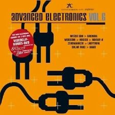 ADVANCED ELECTRONICS VOL.6 2 CD + DVD ELECTRO NEUWARE