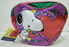 Peanuts Snoopy Heart Shaped Backpack Style 12620