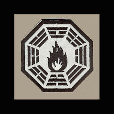 """LOST Dharma Initiative Embroidered patch """"Fuel"""""""