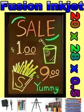 20 x 28 LED WRITING BOARD menu Flashing Fluorescent sign neon 8 pens message bb