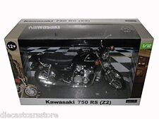 KAWASAKI 750 RS (Z2) BLACK 1/12 MOTORCYCLE MODEL BY AUTOMAXX 605901