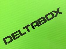 Deltabox Track bike or road fairing Decals Stickers PAIR #52