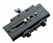 "Flycam Aluminium Quick Release Camera Base Plate Adapter with 1/4"" & 3/8"" Screws"