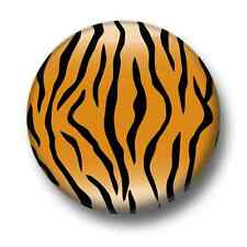 Tiger Stripes 1 Inch / 25mm Pin Button Badge Pattern Design Tigers African Print