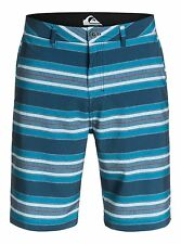 "QUIKSILVER Men's Hybrid Shorts ""Striped Amp"" - BJY3 - Size 32 - NWT - Reg $80"