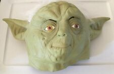 Pre-Owned Disney Star Wars Yoda Overhead Latex Mask - Green One Size Fits Most
