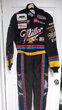 1996 Race worn driving suit by NHRA 3x Champ Larry Dixon