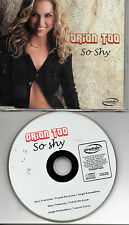 ORION TOO  ‎– So Shy, CD SG SPAIN 2002