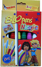 Pustestift Blopens Magic Pens 6 Stifte 8 Schablonen Zauberstift plus Extrastift