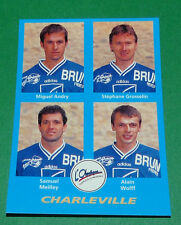 N°361 ANDRY GROSSELIN WOLFF CHARLEVILLE D2 PANINI FOOT 96  FOOTBALL 1995-1996