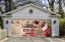 Christmas Garage Door Covers Banners Outside House Decorations Billboard GD35