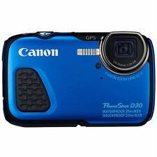 New Canon PowerShot D30 Compact Digital Camera Waterproof Shockproof Japan Model