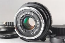 """Mint"" Voigtlander Color Skopar 35mm F/2.5 P II Lens for VM From Japan A789"
